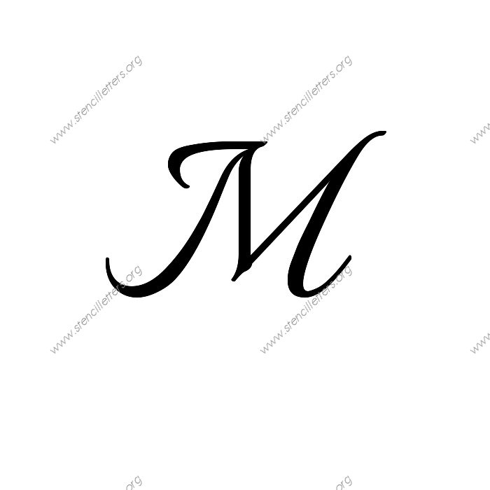 1 12inch stencils113 formaluppercasestencil letter