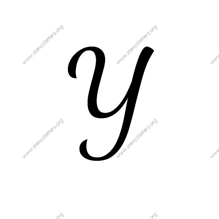 1950s cursive script 3 inch a z uppercase lowercase letters 0 9