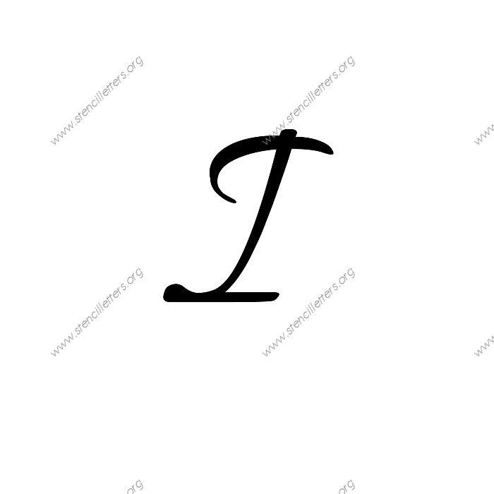 Inch Letter Stencils