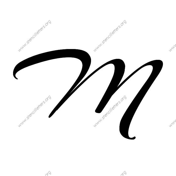 Suggestions Online | Images of Cursive M