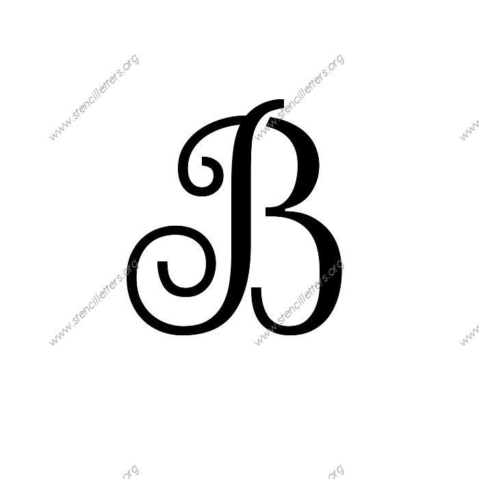 Big Letter Stencils