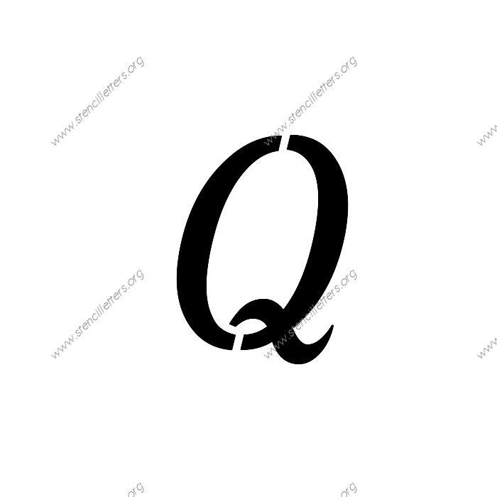 free cursive letter stencil m free cursive letter stencil f