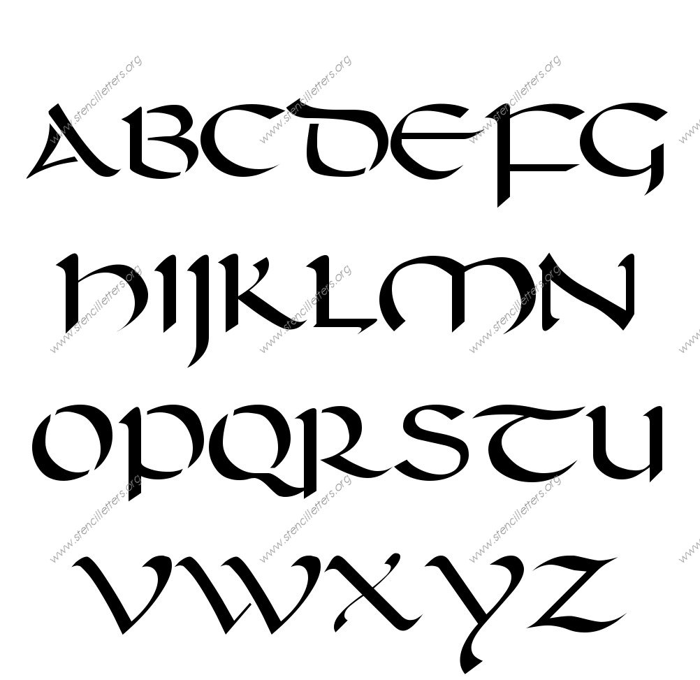 Custom of writing letter designs