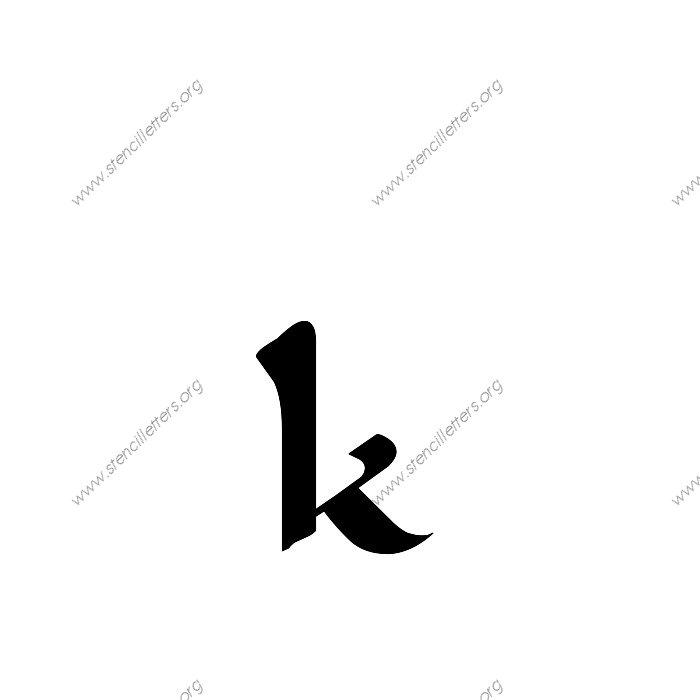 Longhand Penmanship Calligraphy Uppercase Lowercase Letter