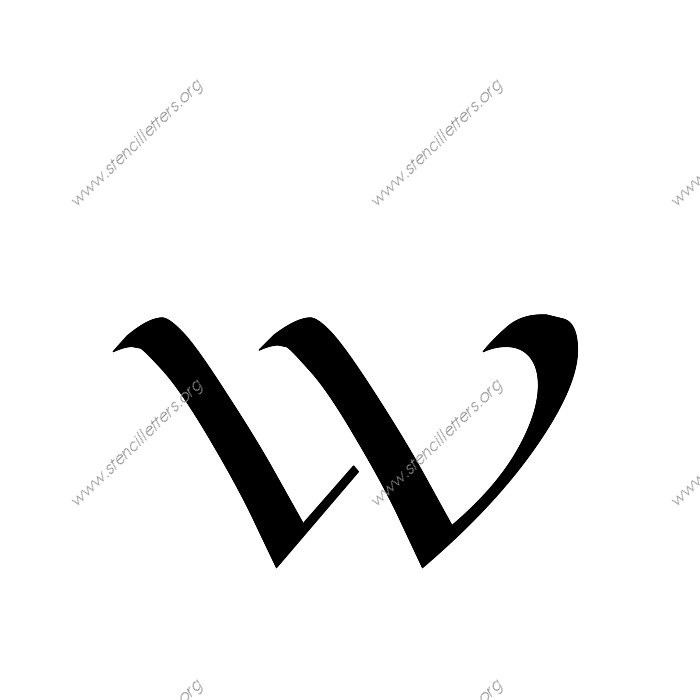 Longhand penmanship calligraphy uppercase lowercase