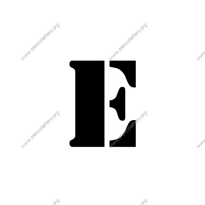 decorative army uppercase  u0026 lowercase letter stencils a