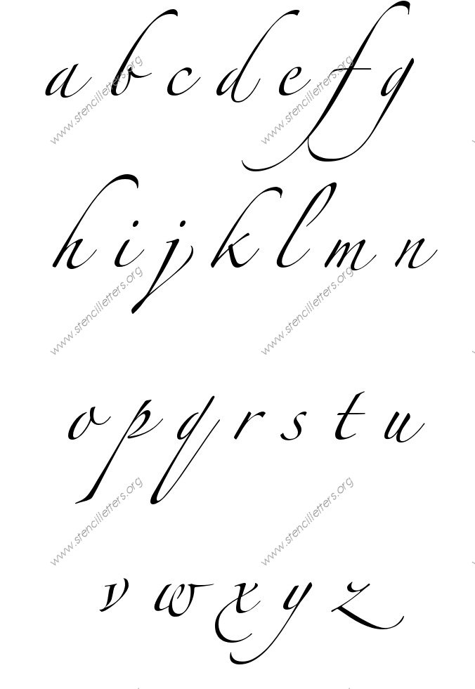 capital letters in cursive cursive writing small letters a to z small letter 1116