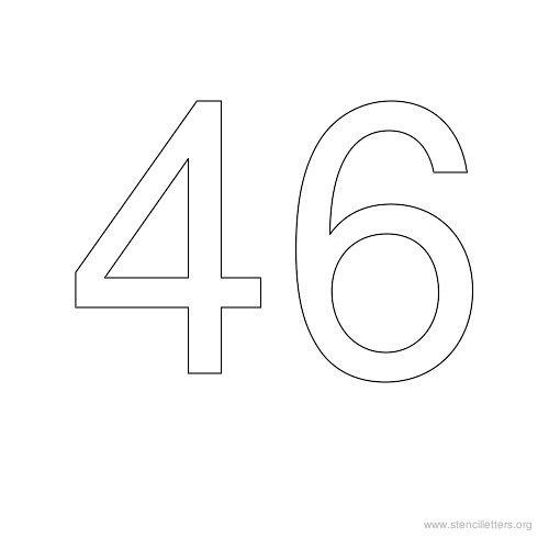 Number  Bubble Letter