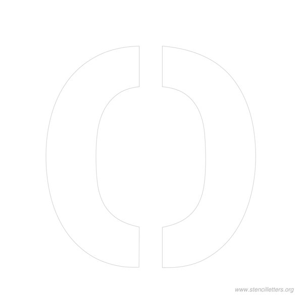 10inch-stencil-letter-o  Inch Letter Templates on thousandth of an inch, english units, imperial units, unit of length, cubic inch, pounds per square inch, square inch, international system of units, fluid ounce, british thermal unit,