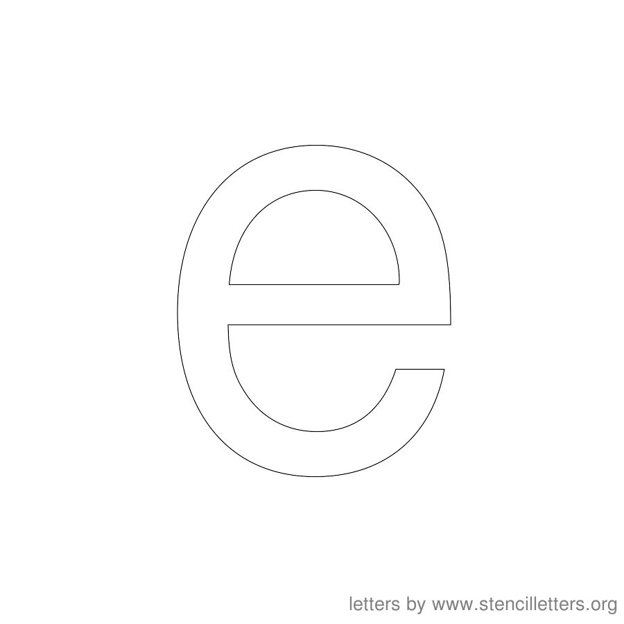Lowercase E Bubble Letter Altin Northeastfitness Co