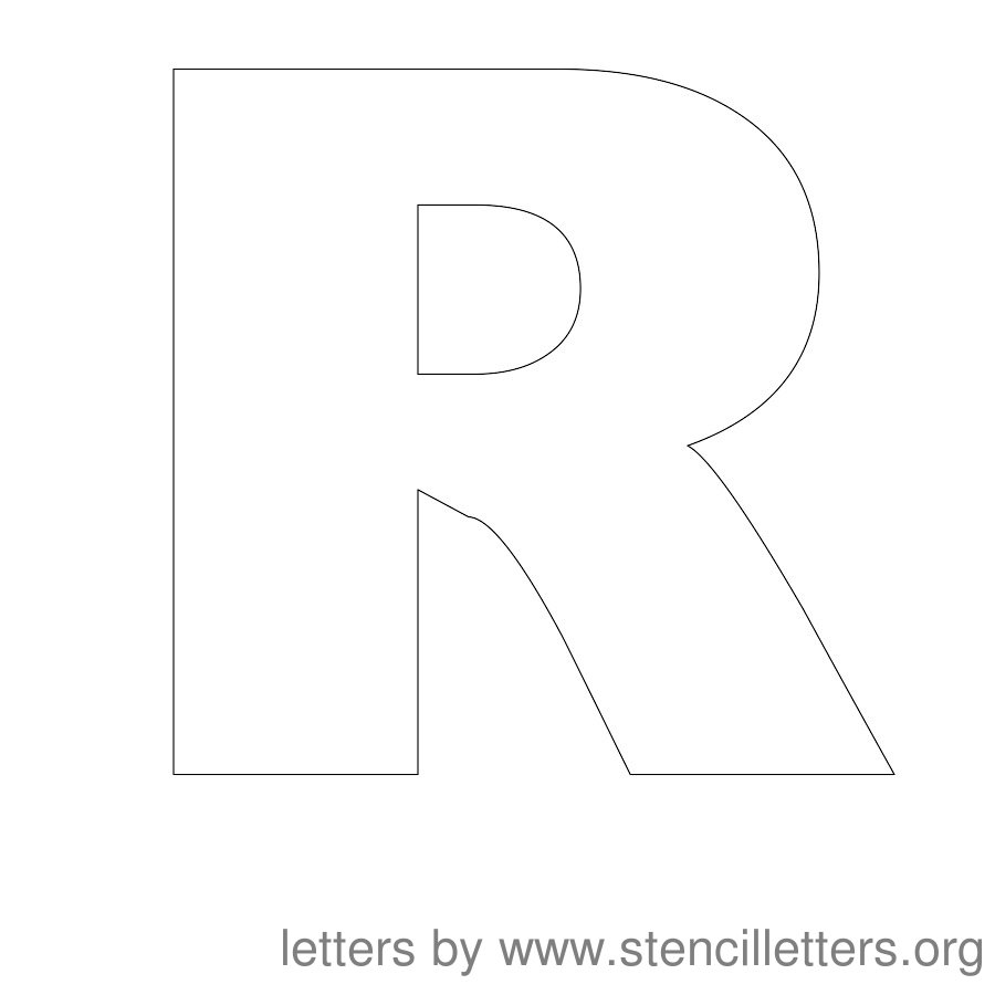picture regarding Free Printable Upper Case Alphabet Template named Stencil Letters 12 Inch Uppercase Stencil Letters Org