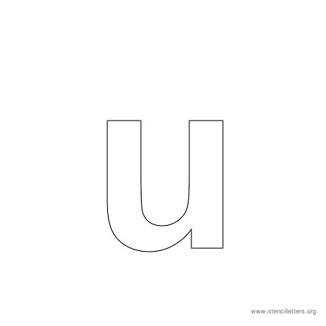 U Alphabet Letter ... - Lower Case Letter U Print Out This Letter U And Color It Or Make A