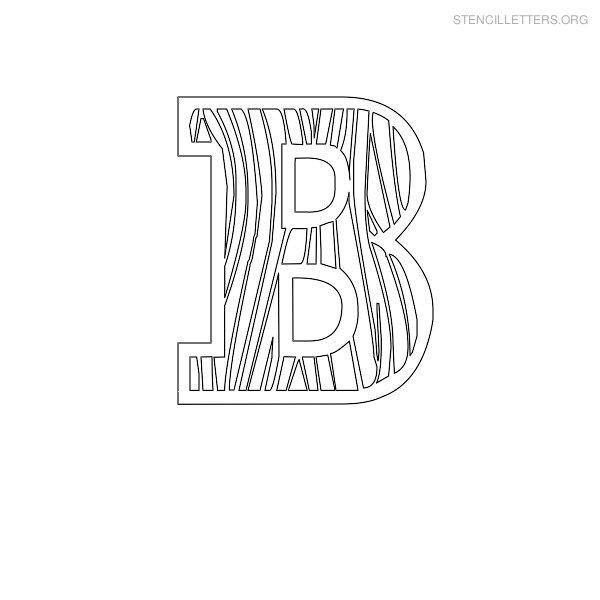 Stencil Letters B Printable Free B Stencils | Stencil Letters Org
