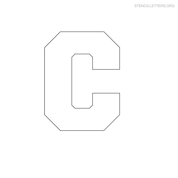 block-stencil-letter-c  Inch Letter H Templates on printable bubble, large alphabet, extra large, is for hippo, bold uppercase,