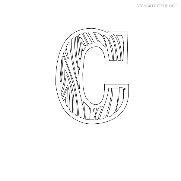 letter stencils for wood stencil letters c printable free c stencils stencil 237