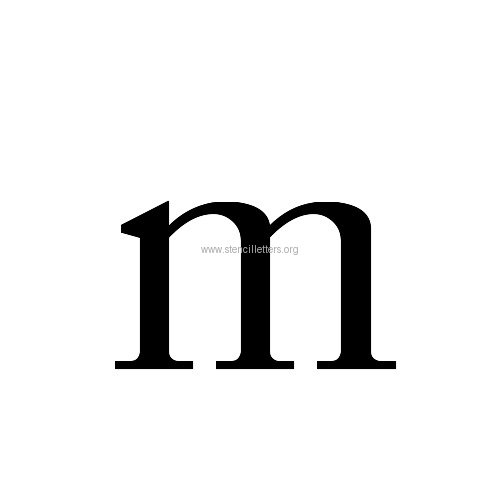 caslon letterslowercasestencil letter mjpg