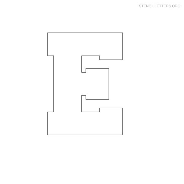 Letters » Printable Large Alphabet Letters - Free Math Worksheets