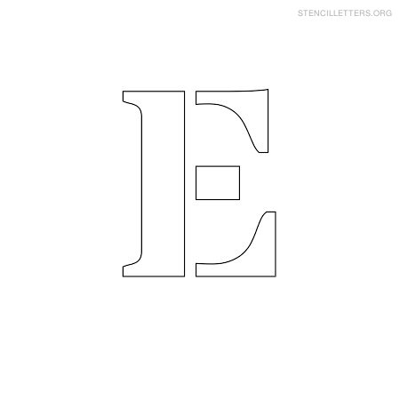 photo relating to Printable E identify Stencil Letters E Printable Absolutely free E Stencils Stencil