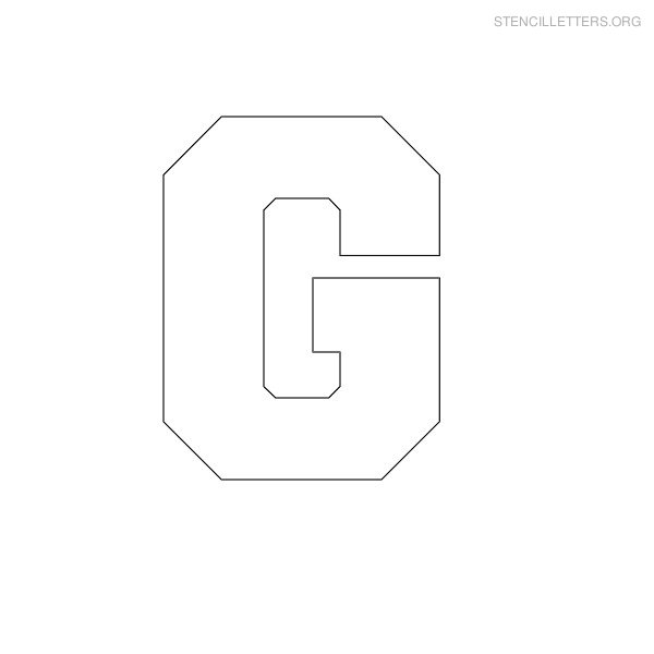 Stencil Letters G Printable Free G Stencils | Stencil Letters Org