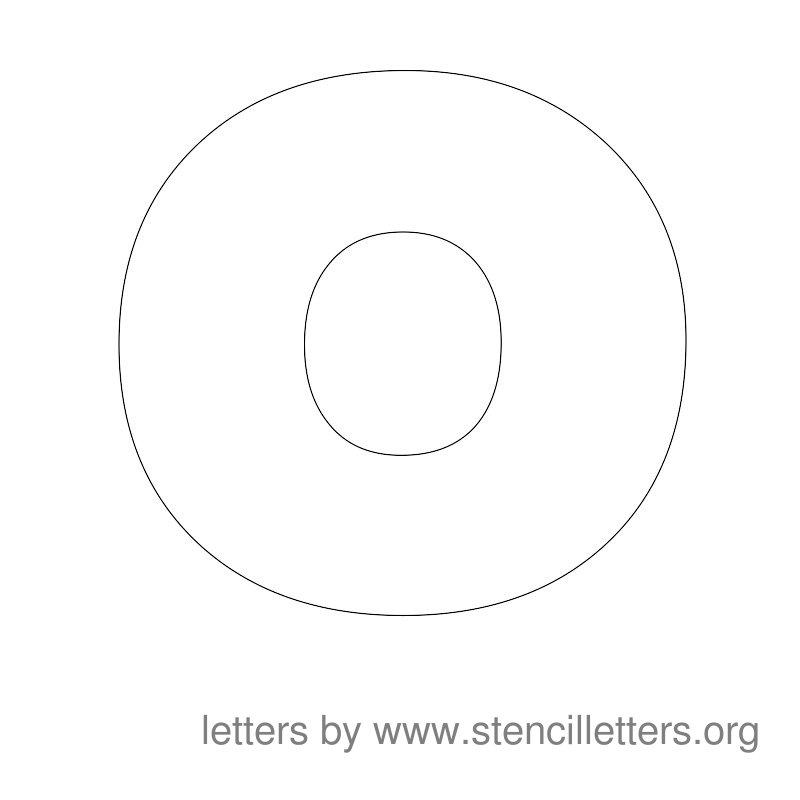 Large Stencil Letters on Letter J Video