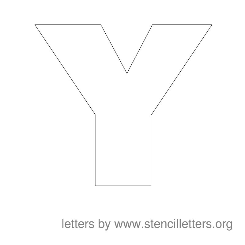 photograph relating to Large Printable Letter Stencils named A lot more Substantial Printable Letter Stencils
