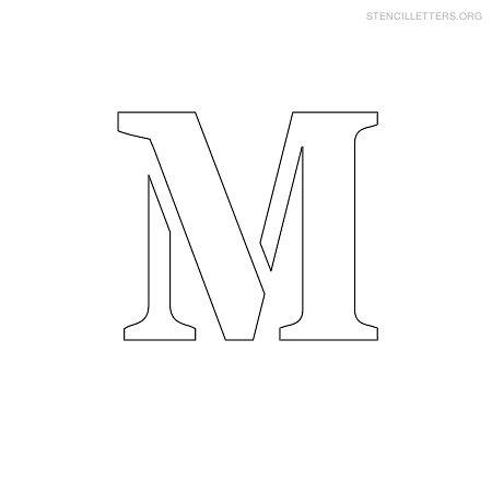 Free Stencils Lettering Pasoevolistco - Letter stencil templates