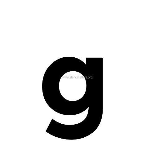 Montserrat large letter stencils a z 12 inch to 36 inch sizes montserrat sansserif letterslowercasestencil letter gg altavistaventures Choice Image