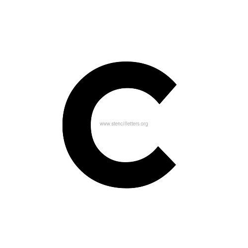 Montserrat Medium Letter Stencils A-Z   6 Inch to 11 Inch ...