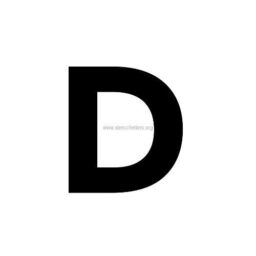 Montserrat Large Letter Stencils A-Z | 12 Inch to 36 Inch