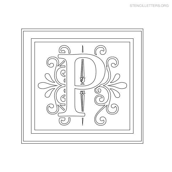 free printable alphabet templates - stencil letters p printable free p stencils stencil
