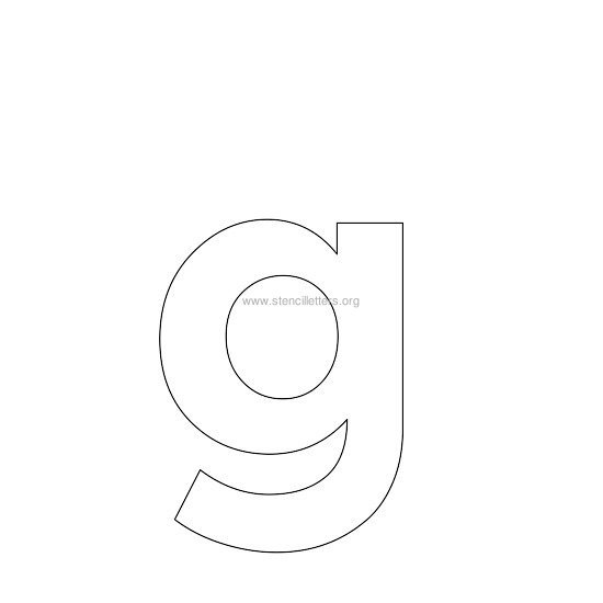 Letter Q Template Printable