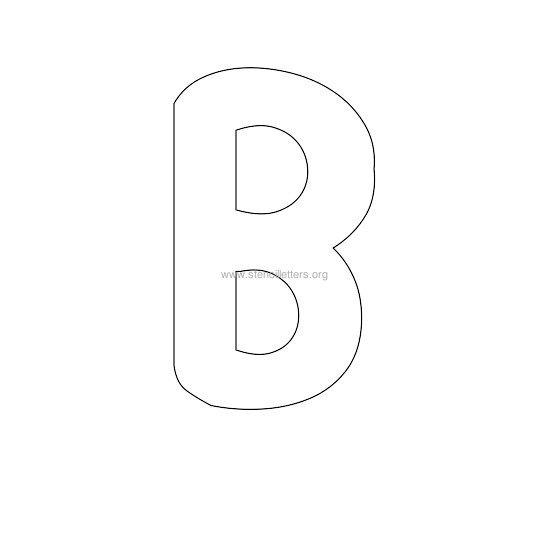 Printable Bubble Alphabet Letters