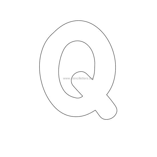The Letter Q In... Q Bubble Letter