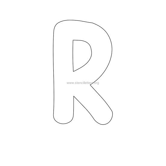 Small Letter R Writing