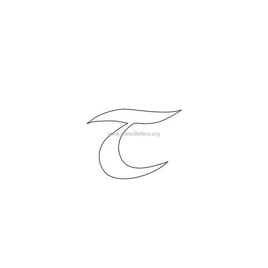 Celtic letter stencils stencil letters org