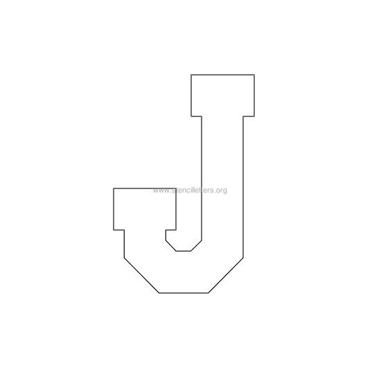 varsity-letter-stencil-j Varsity Letter Z Template on varsity sports letters, white letters z, varsity letters alphabet, blue letters z,