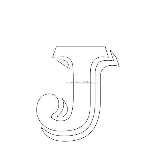 victorian letter stencils