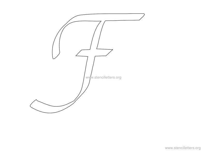 f in cursive writing