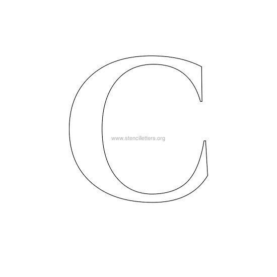 resume format letter c stencils. Black Bedroom Furniture Sets. Home Design Ideas