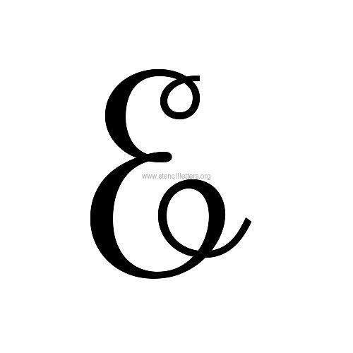 Rochester large letter stencils a z 12 inch to 36 inch sizes rochester artdeco lettersuppercasestencil letter eg spiritdancerdesigns Images