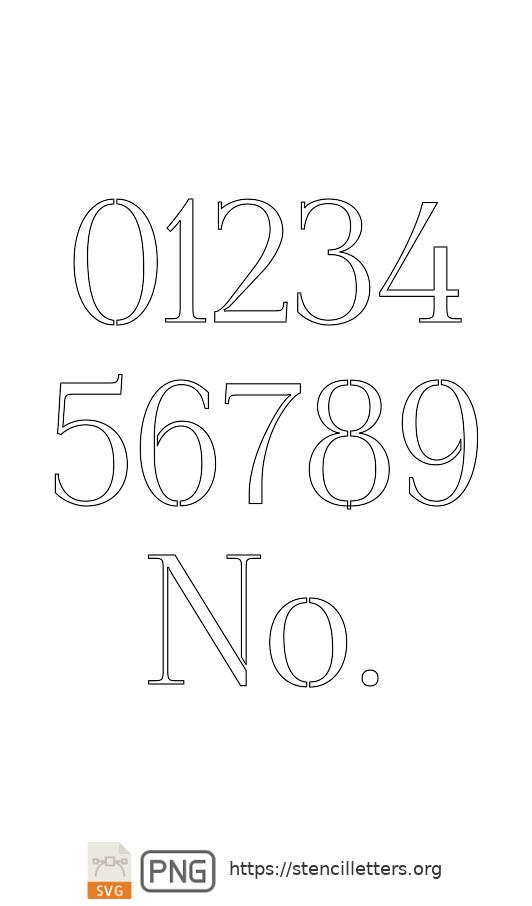 Formal Petite number stencils