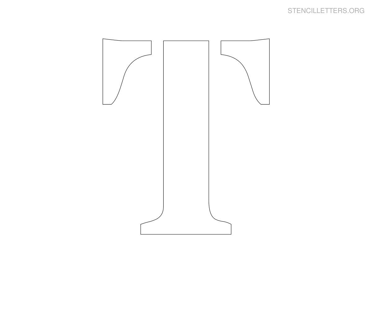 large-stencil-letter-t T Letter Stencil Templates Free Printable on extra large, large alphabet, monogram alphabet, large wall, lower case alphabet, fancy cursive, old english alphabet, for banner,