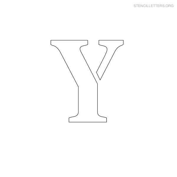 stencil letters y printable free y stencils stencil letters org