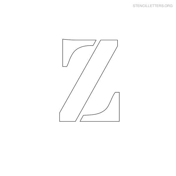 stencil letters z printable free z stencils stencil letters org